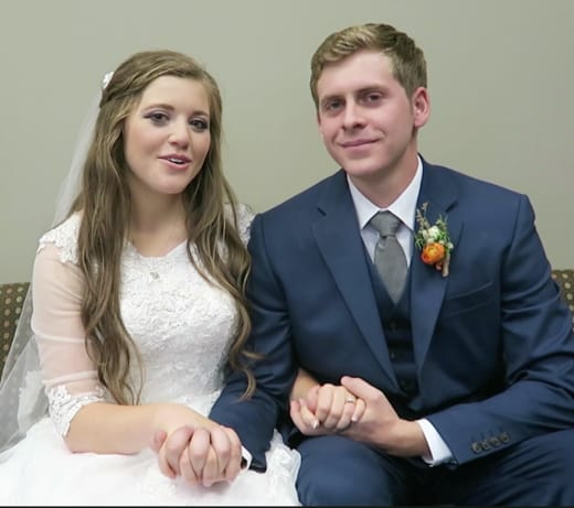 Joy-Anna Duggar Wedding Dress