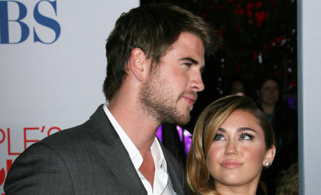 Liam and Miley Pic