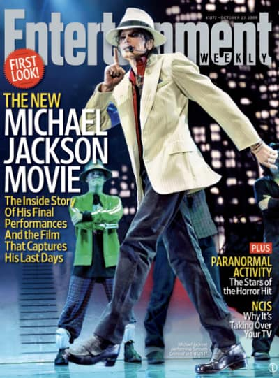 Michael Jackson Entertainment Weekly Cover