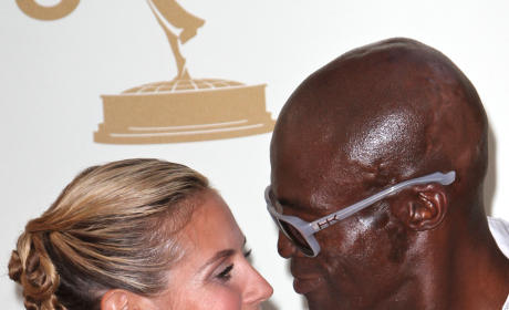 Heidi Klum and Seal Pic