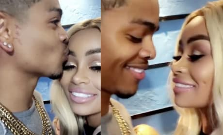 Blac Chyna Cuddles Up to New Man (And You Won't Believe What's On His Neck!)