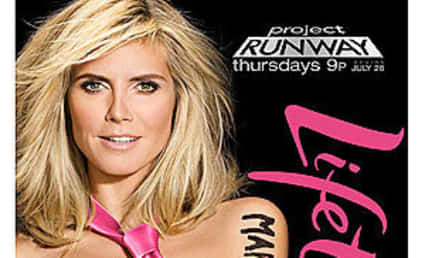 Heidi Klum: Nude for Project Runway!