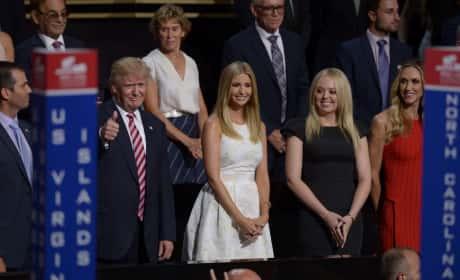 Trump Family Photo