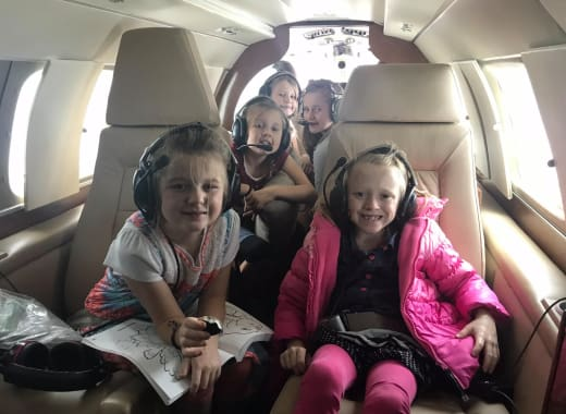 Duggar Daughters Flying