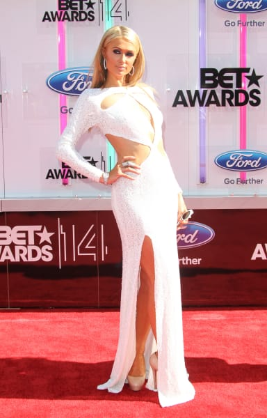 Paris Hilton BET Awards Photo
