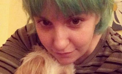 Lena Dunham Goes Green, Dyes Hair Again