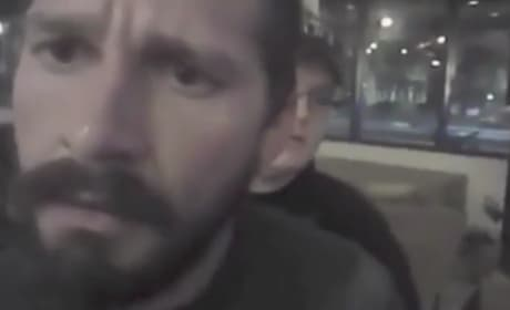 Shia LaBeouf Flips Out on Arresting Officer