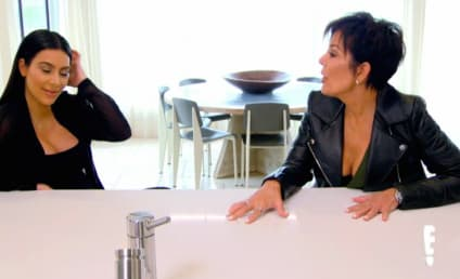 Kris Jenner to Kim Kardashian: Stop Eating So Much!