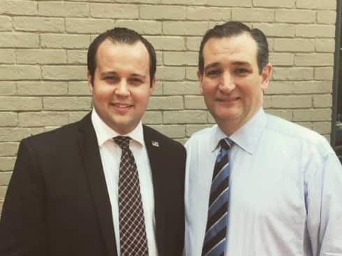 Josh Duggar-Ted Cruz Photo
