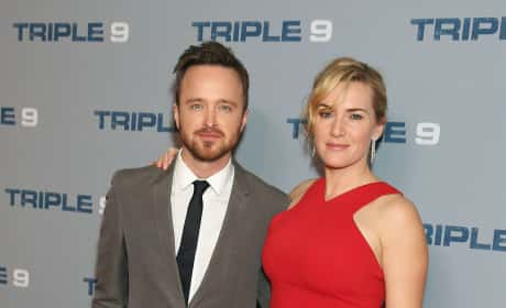 Aaron Paul and Kate Winslet: 'Triple 9' Special Screening