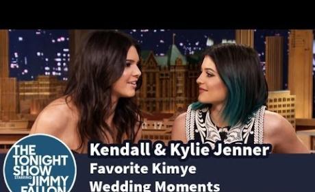 Kendall and Kylie Jenner Share Kimye Wedding Memories