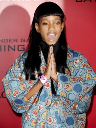Willow Smith at Catching Fire Premiere