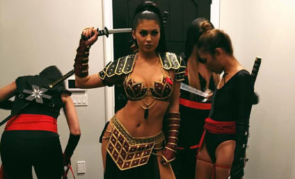 Kylie Jenner (Almost) Bares It All For Halloween
