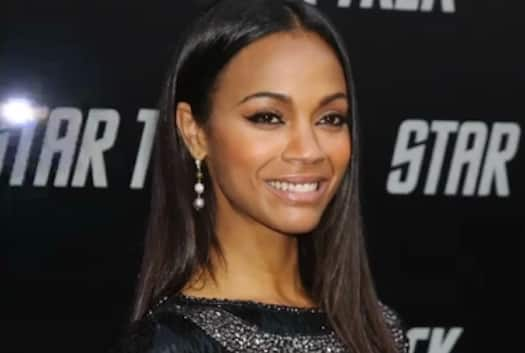 Zoe Saldana & Marco Perego from Secret Celebrity Weddings
