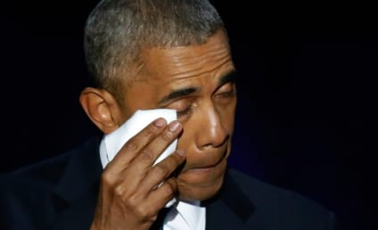 Barack Obama Breaks Down Over Wife: Watch! Cry!