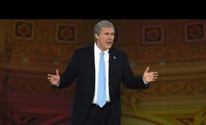 Will Ferrell Reprises Bush Impersonation at White House Correspondents' Dinner!