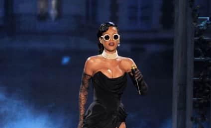 Rihanna Victoria's Secret Fashion Face-Off: Black or White?