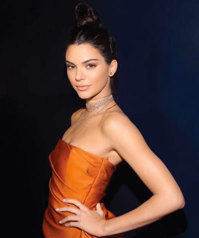 Kendall Jenner All Skin And Bones For New Photo Shoot