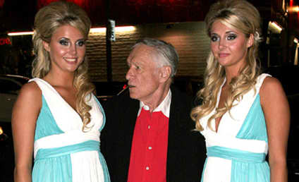 Hugh Hefner Confused, Aroused by Karissa and Kristina Shannon