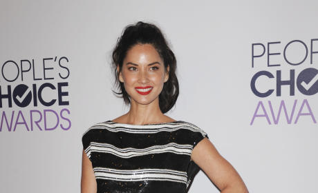 Olivia Munn at the People's Choice Awards