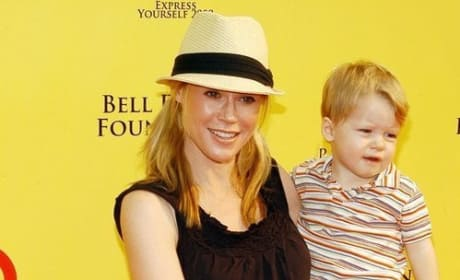 Julie Bowen and Oliver