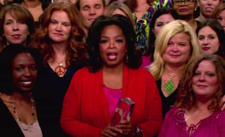 Oprah and Fans