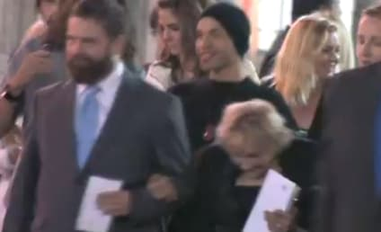 Zach Galifianakis, Homeless Woman He Saved to Attend Hangover 3 Premiere