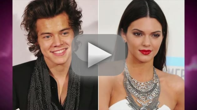 Kendall Jenner and Harry Styles