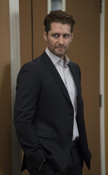 Matthew Morrison on  Grey's Anatomy