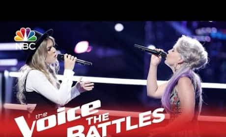 Daria vs. Darius, Cole vs. Nadjah, and Hanna vs. Summer (The Voice Battle Round)