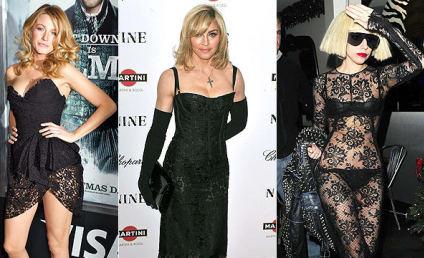 Celebrity Fashion Face-Off: Blake Lively vs. Madonna vs. Lady Gaga