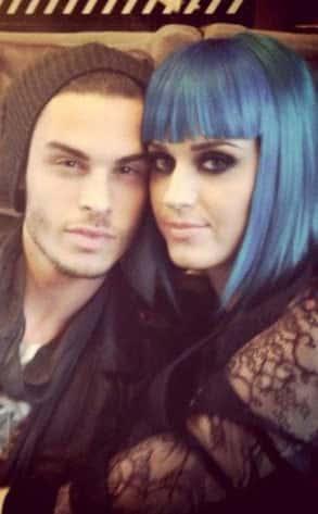Katy Perry and Baptiste Giabiconi