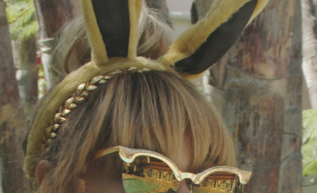 Beyonce Bunny Ears Photo