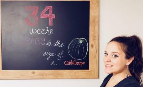 Jinger Duggar at 34 Weeks