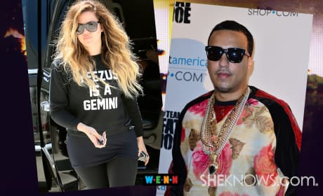 Khloe Supports French Montana
