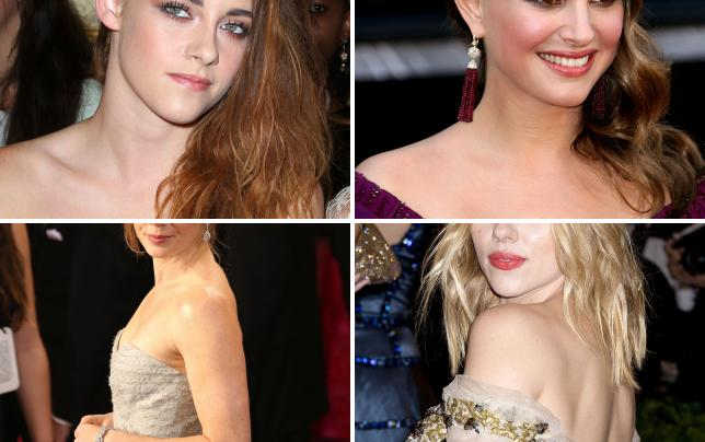 Kristen stewart at a fashion show