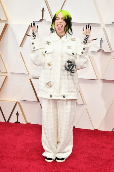 Billie Eilish at 2020 Oscars