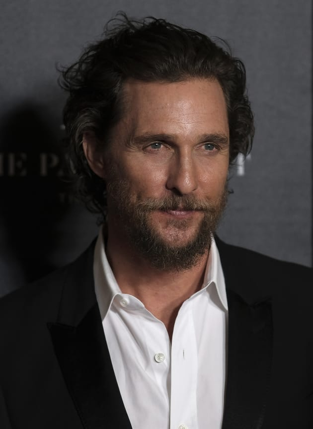 Matthew McConaughey at Gold Premiere