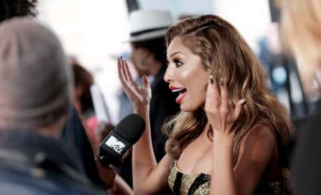 Farrah Abraham Speaks to Reporters at The 2016 MTV Movie Awards