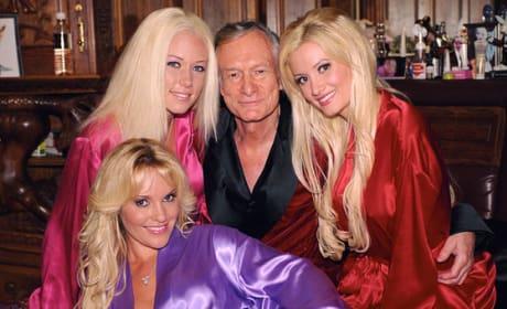 Girls Next Door and Hugh