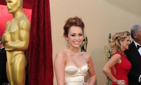Miley at the Oscars