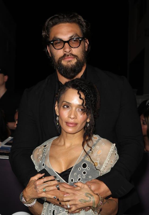 Jason Momoa and Lisa Bonet Photo