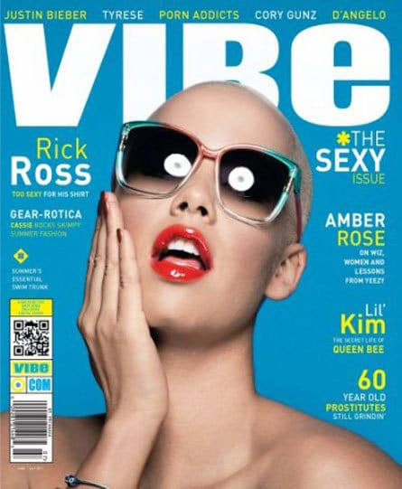 Amber Rose Vibe Cover