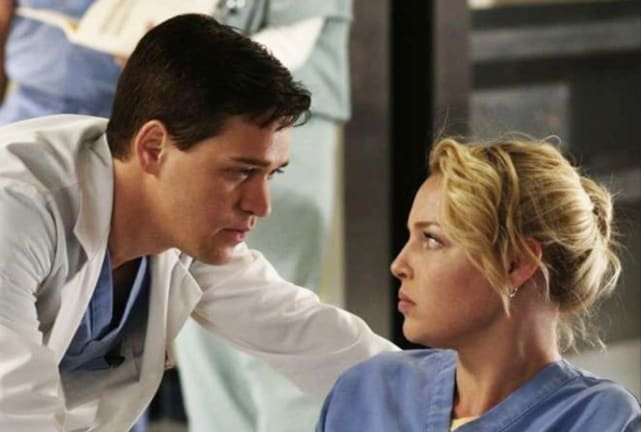George and izzie greys anatomy