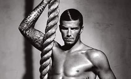 David Beckham: Shirtless Underwear Model