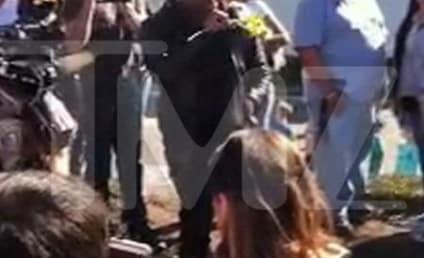 Tyrese Breaks Down in Tears at Paul Walker Crash Site: VIDEO