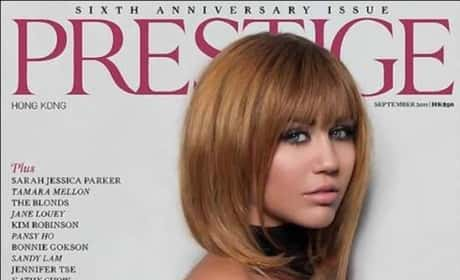 Miley Cyrus Presting Cover Photo
