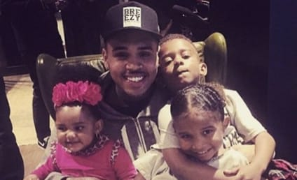 """Chris Brown Teaches Nephew About """"Hoes,"""" Shows World What Kind of Dad He'll Be"""