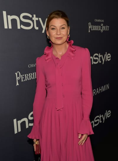 Ellen Pompeo on a Red Carpet