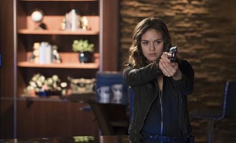 Huntress with a Gun